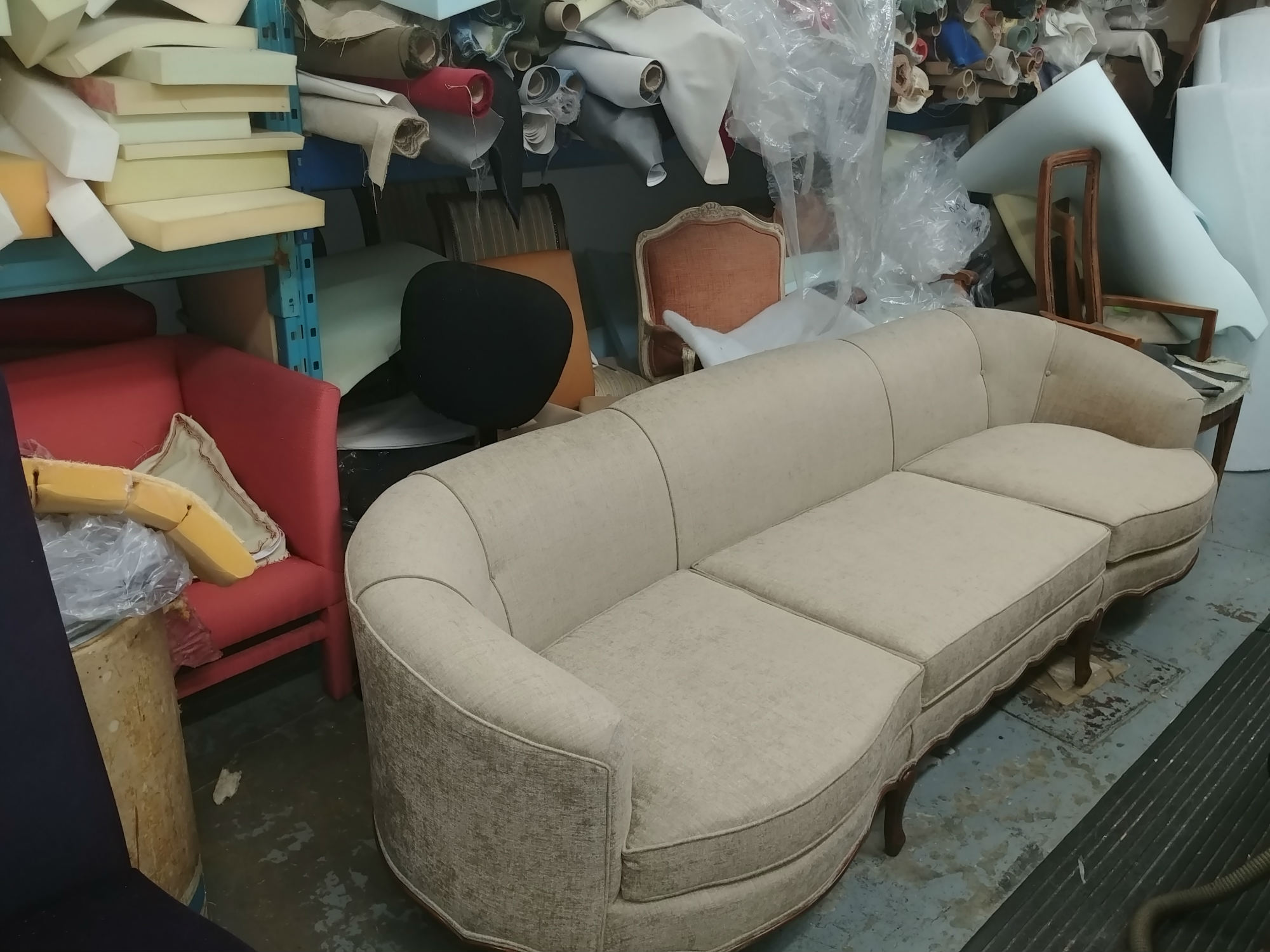 sofa upholstery fabric works