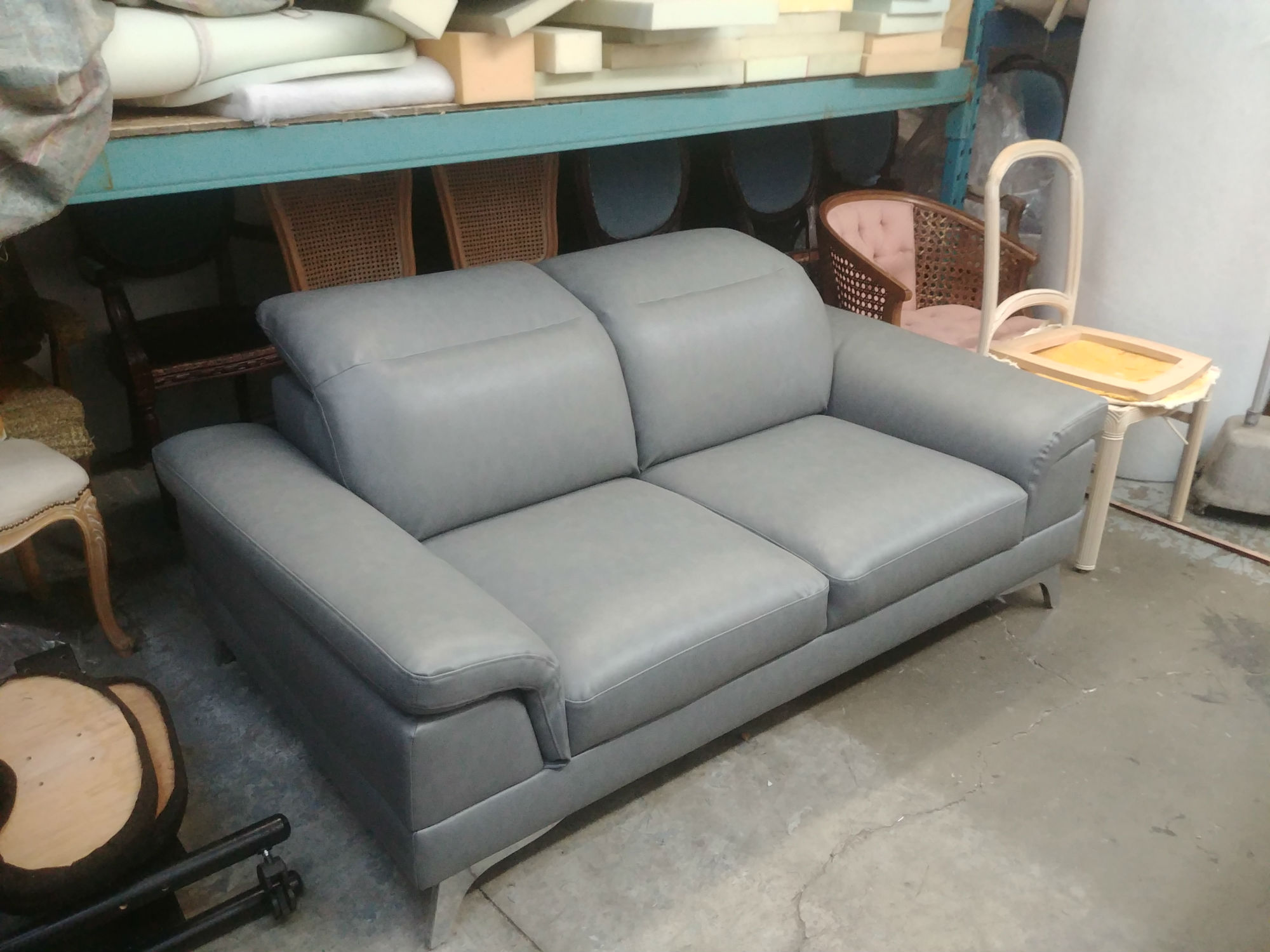 gray color sofa upholstery fabric