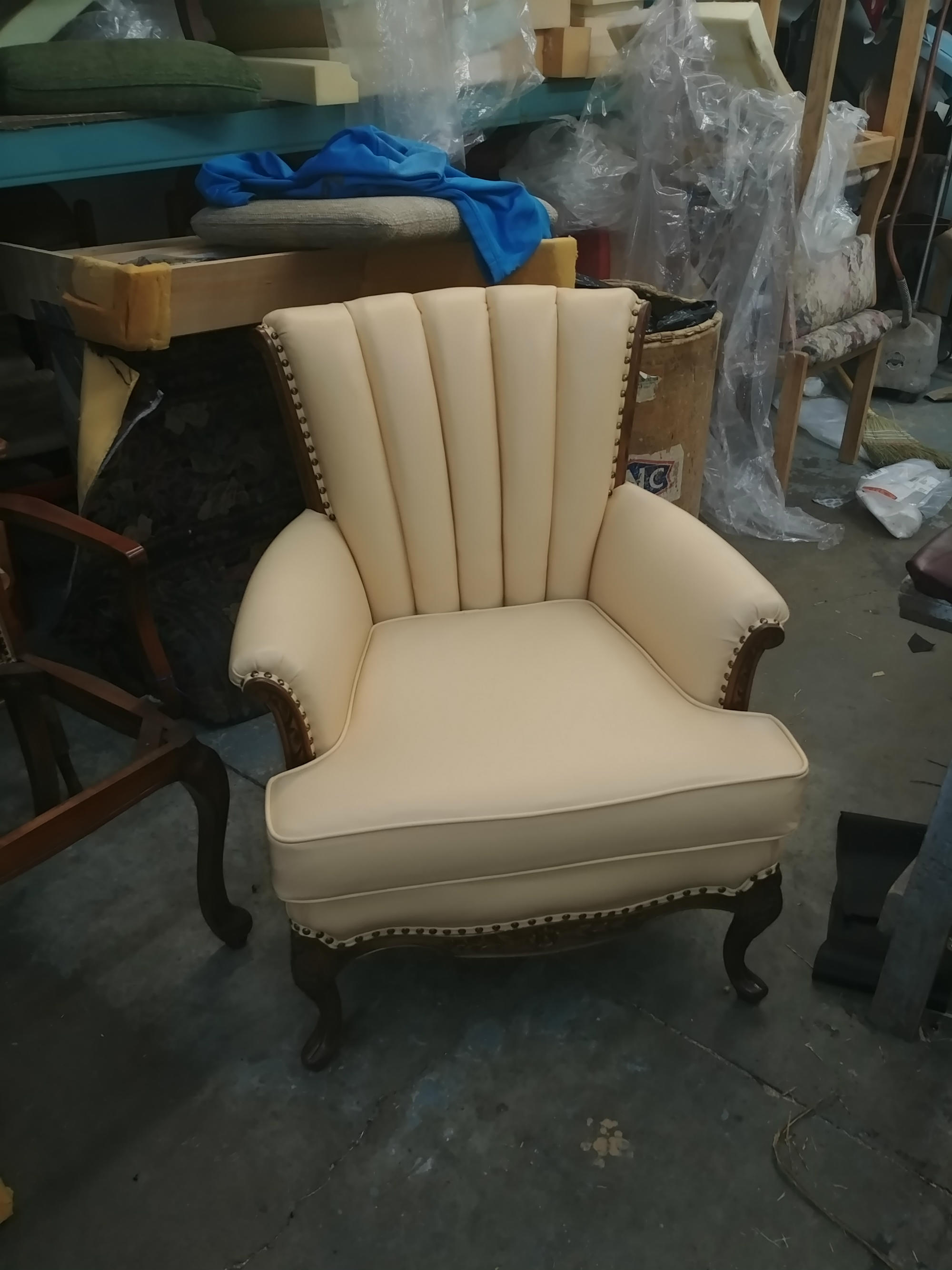 white color sofa upholstery