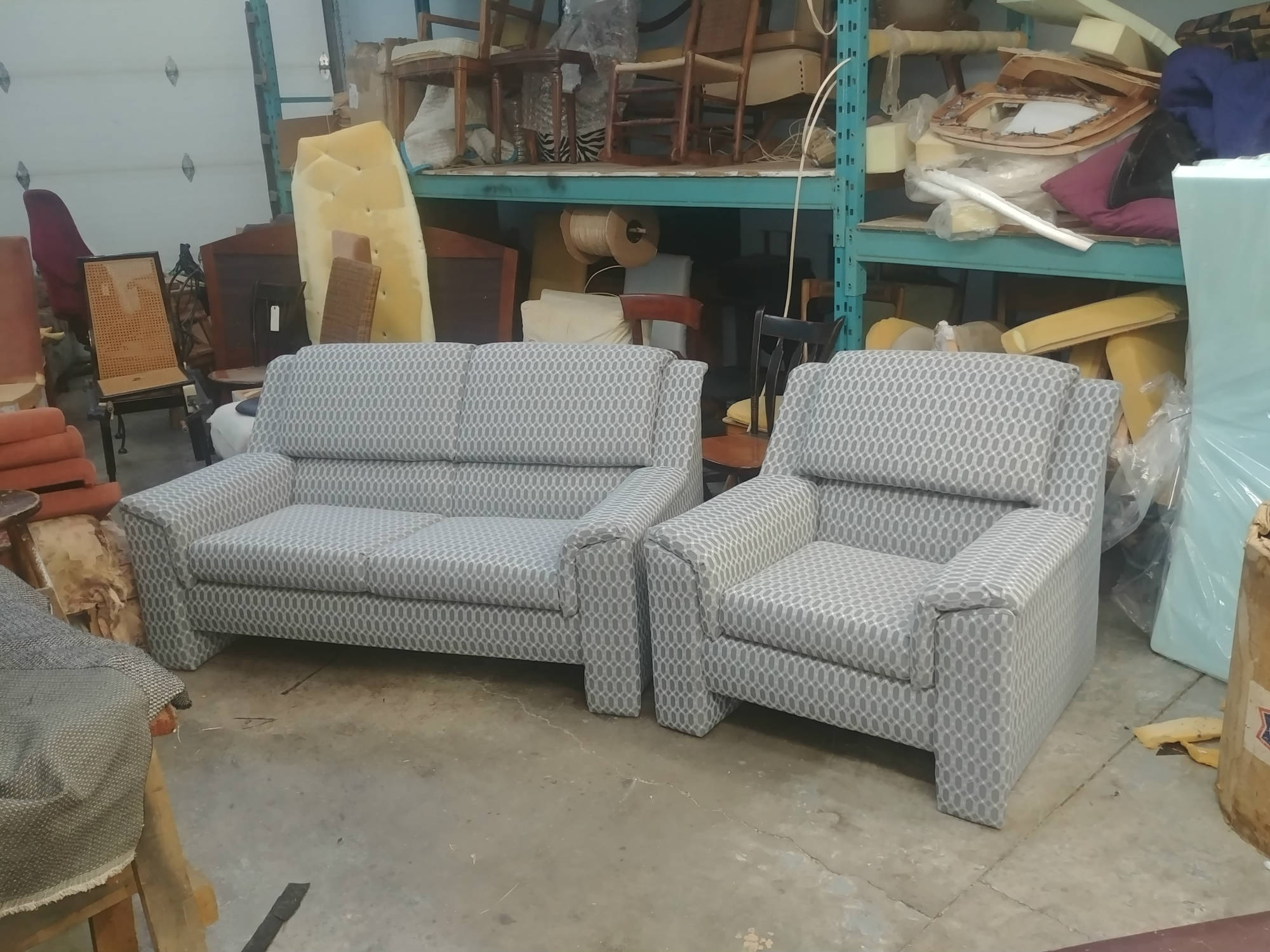 sofa upholstery works